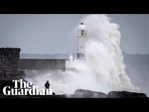 Storm Ali: ferocious winds wreak havoc in UK and Ireland