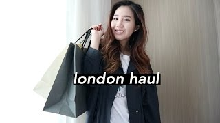 Massive London Haul: Topshop, Lush, & More!