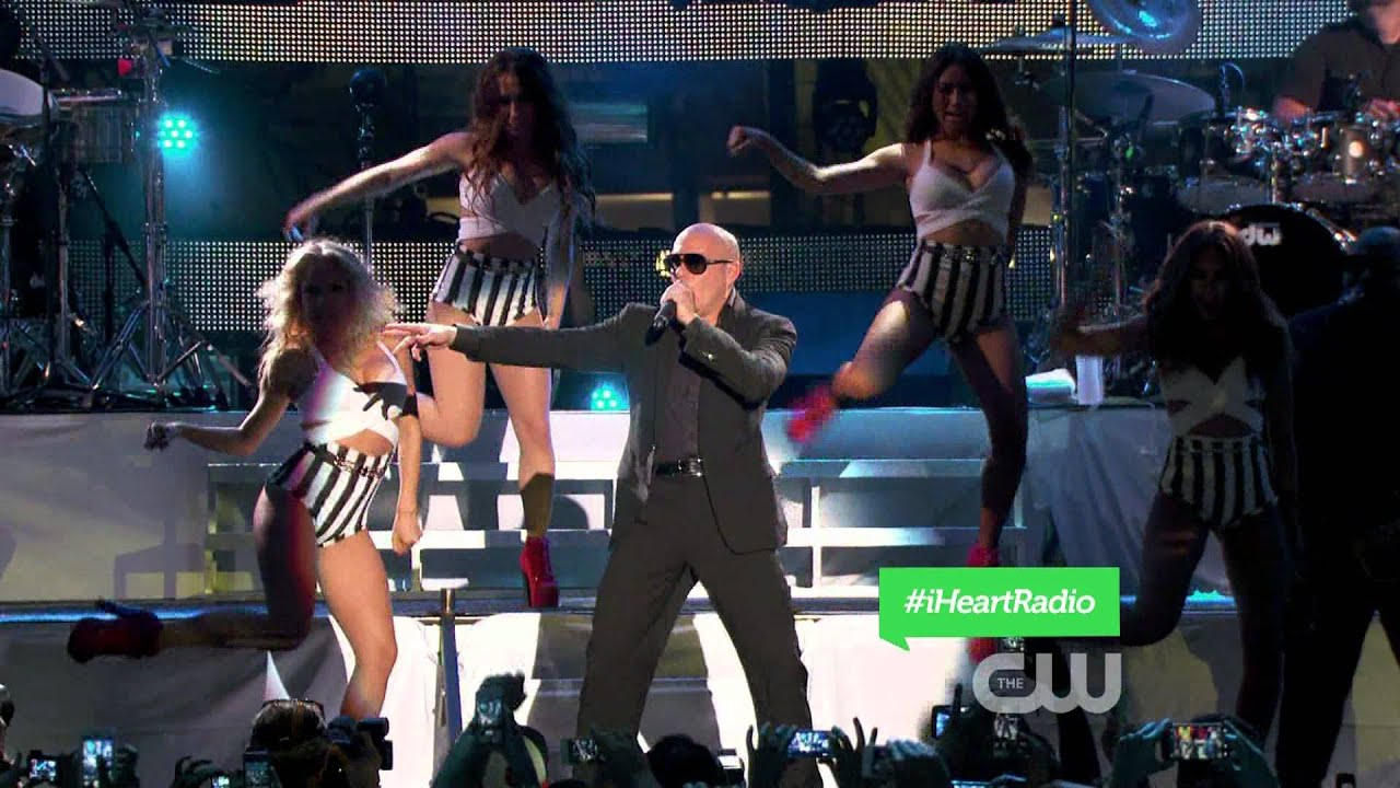 Download Pitbull - International Love Live at iHeartRadio Ultimate Pool Party 2013 1080i