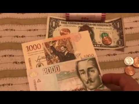 Cuánto es 3,000 pesos colombianos en dólar americano
