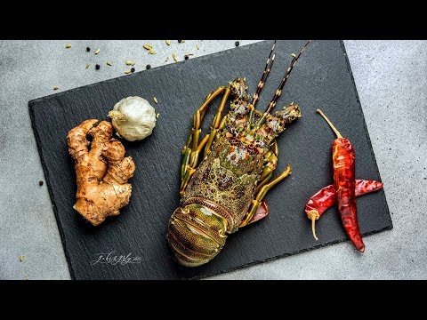 How to clean and Cook Lobster Curry | Manchatti Kitchen