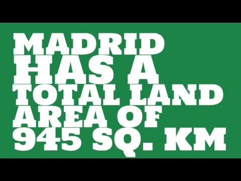 How does the population of Madrid rank?