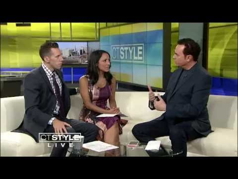 Mark Anthony the Psychic Lawyer on CT Style ABC-8 WTNH.