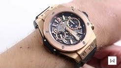 Hublot Big Bang Unico King Gold Luxury Watch Review