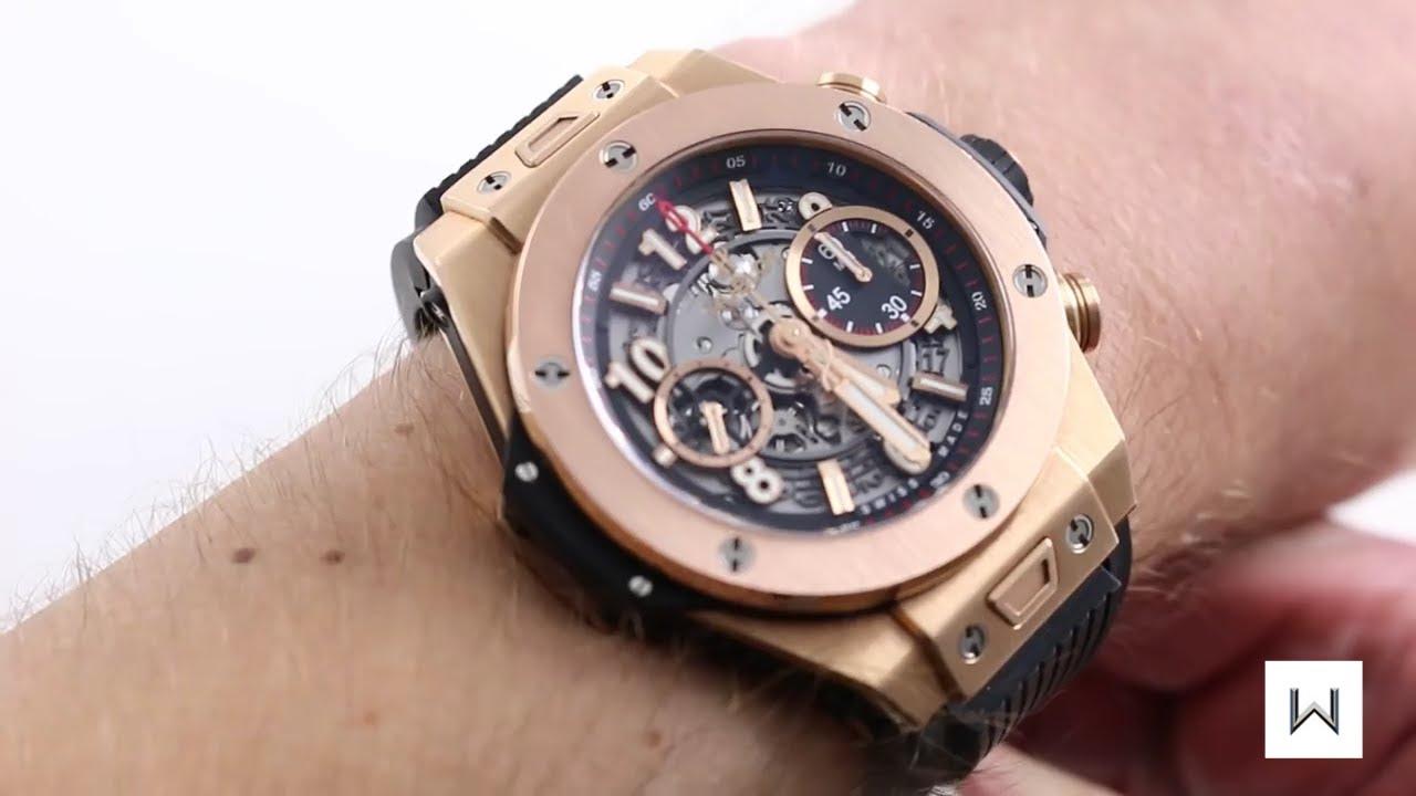 Hublot Big Bang Unico King Gold Luxury Watch Review Youtube