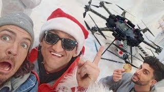 100 kids, Casey Neistat, and a BIG DRONE!!