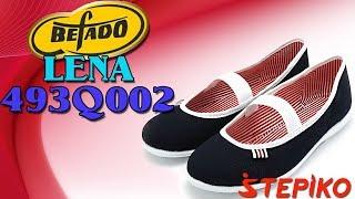 Женские текстильные балетки Befado Lena 493Q002. Видео обзор от WWW.STEPIKO.COM