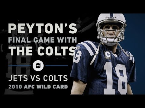 Why Peyton Manning's Final Game as a Colt Summed Up His Whole Career | NFL Vault Stories