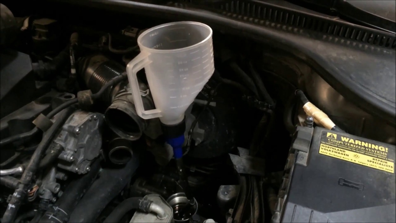 vw dsg automatic transmission fluid oil change [ 1280 x 720 Pixel ]