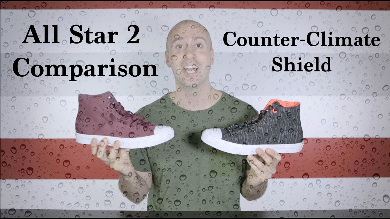 Converse Chuck Taylor II Shield Canvas Boot Winter and Fall Unboxing + On feet Mr Stoltz 2016