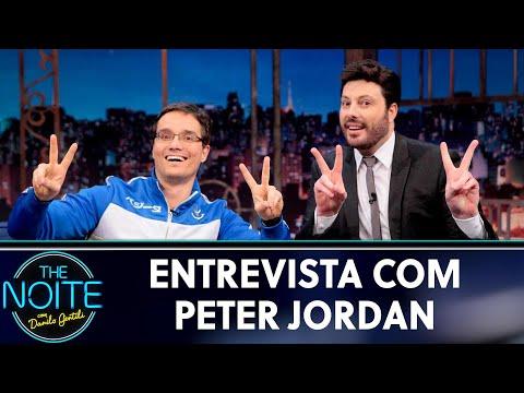 Entrevista com Peter Jordan | The Noite (24/05/19)