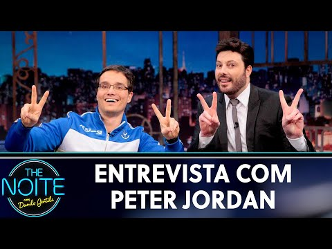 Entrevista com Peter Jordan  The Noite 240519