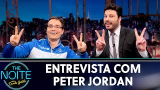 Entrevista com Peter Jordan | The Noite (24/05/19)
