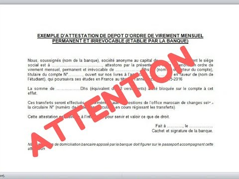 Le Document Cle Pour Eviter Un Refus De Visa Important Youtube