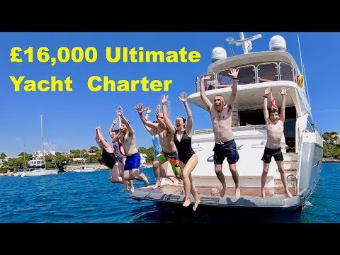 £16,000 Ultimate Yacht Charter