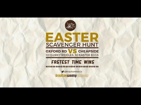 Easter Scavenger Hunt - Brazilian Waxing Company
