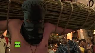 Autoflagelaciones en la Semana Santa mexicana
