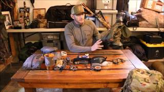 Backcountry Day & Extended Elk Hunting Backpack Gear - What