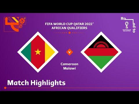Cameroon v Malawi | FIFA World Cup Qatar 2022 Qualifier | Match Highlights