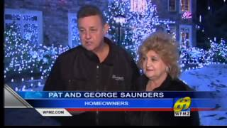 WFMZ-TV 69 News: Thousands of lights ring Lehigh County property