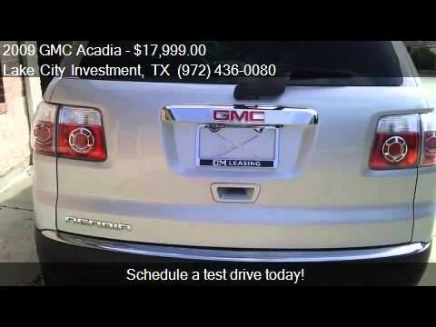 2009 GMC Acadia SLT-1 FWD for sale in Lewisville, TX 75057 a