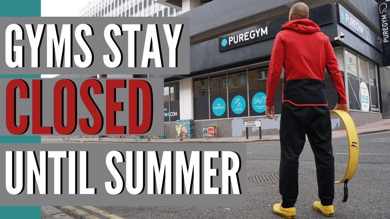 Don't Wait Until Summer! Gyms Stay Closed Start Training Now | Train ComplEat | Gym News