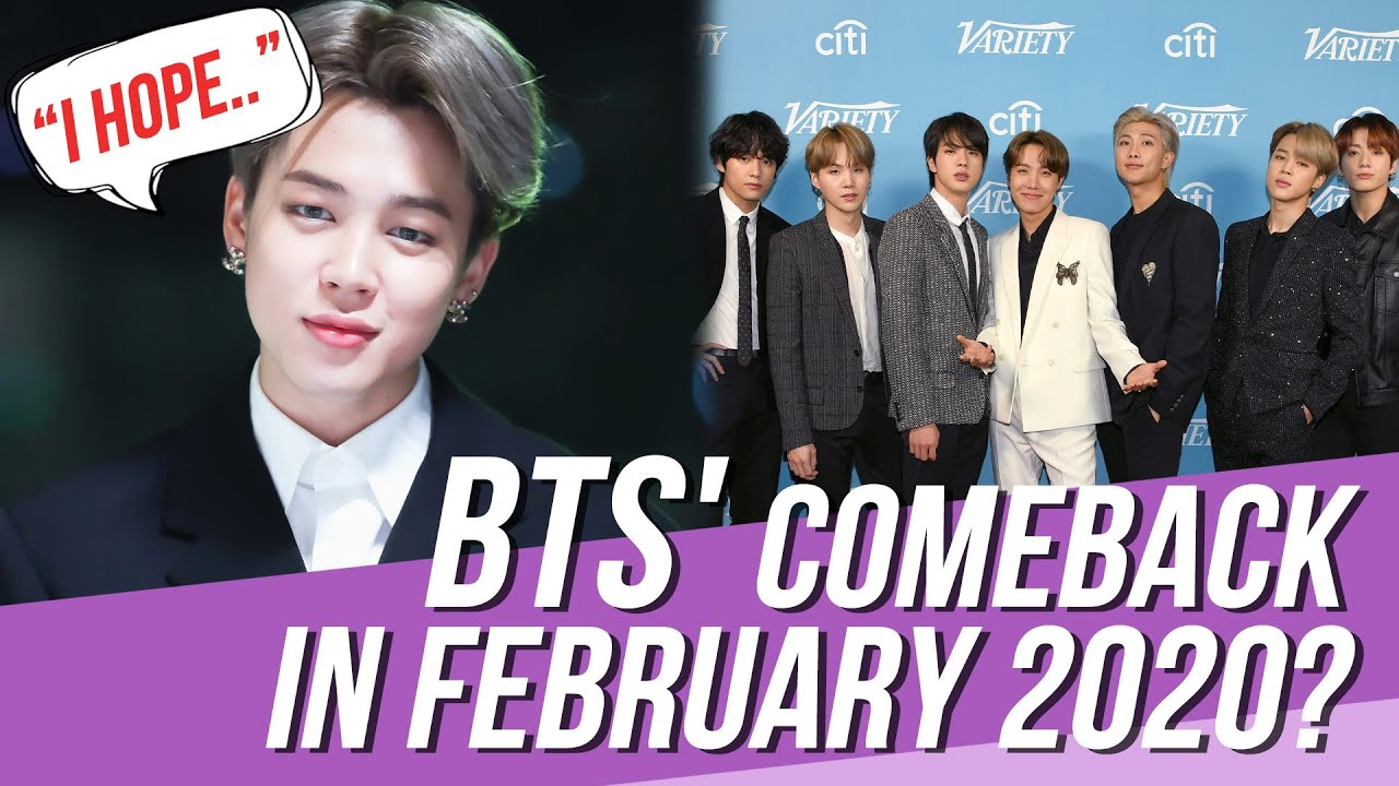 Bts Comeback Show 2020.Big Hit Entertainment Gives Their First Feedback On Reports About Bts Comeback In February 2020