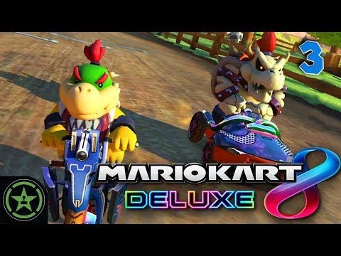 Let's Play - Mario Kart 8 Deluxe: Race 3