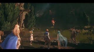 Granblue Fantasy Relink Gameplay PS4 Game de RPG
