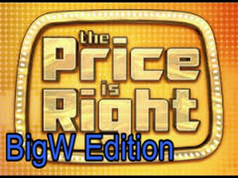 The Price Is Right Australia  (11/5/12) | BigW Counter