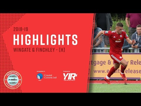 HIGHLIGHTS: Worthing 2-1 Wingate & Finchley [H] - League