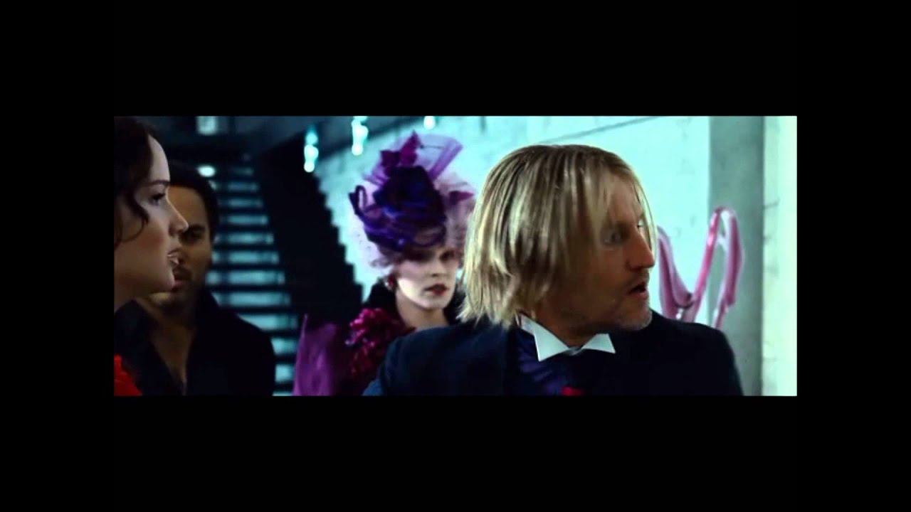 The Hunger Games - Katniss attacks Peeta 1080p - YouTube