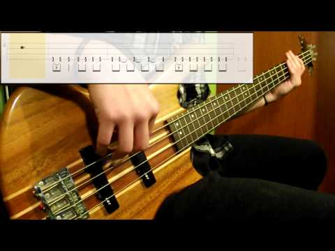 Led Zeppelin - Rock And Roll (Bass Cover) (Play Along Tabs In Video)