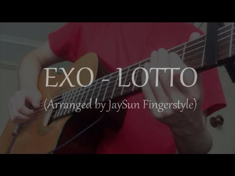 EXO - LOTTO (Fingerstyle Guitar Cover) [TABS]