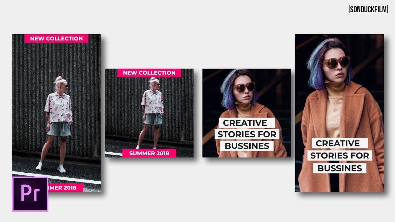 Create Instagram Stories | Adobe Premiere Pro Tutorial