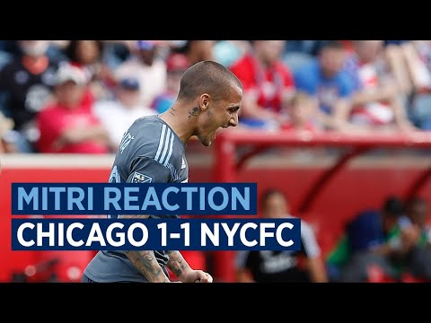 Mitriță Reaction | Chicago Fire 1-1 NYCFC