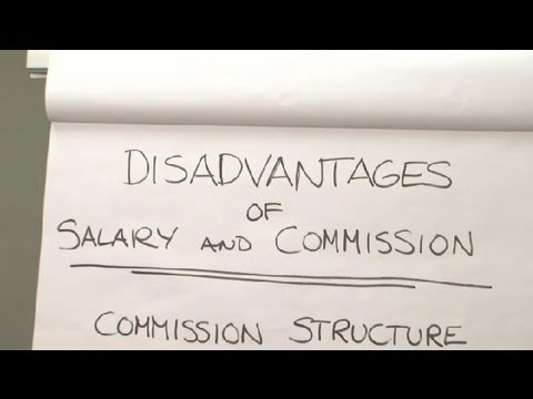 The Disadvantages of a Salary Plus Commission : Financial Planning & You