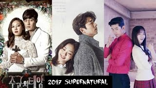 Video TOP 10 Supernatural Korean Drama |  2017 download MP3, 3GP, MP4, WEBM, AVI, FLV September 2017