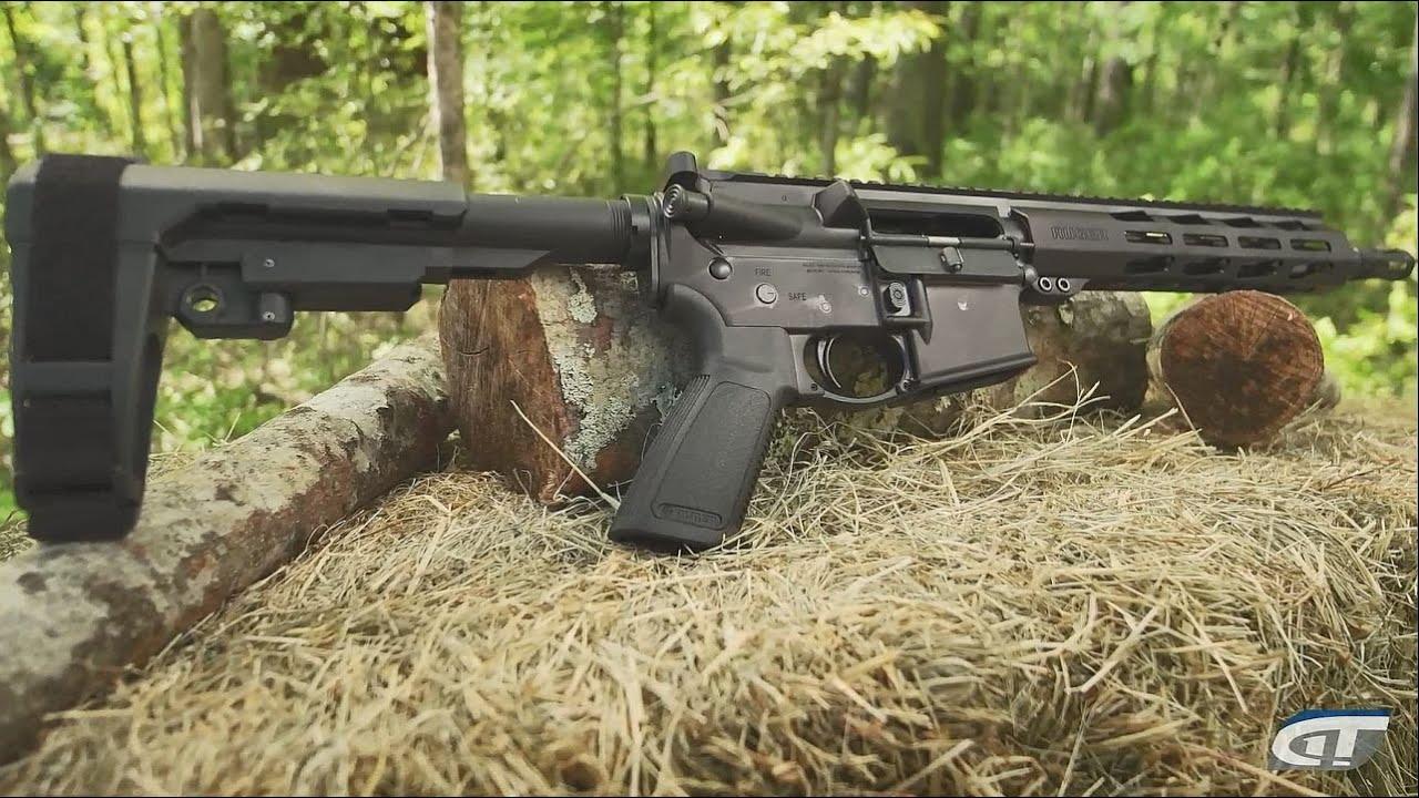 Ruger AR-556 Pistol and  350 Legend Rifle: NRA 2019 | Gun Talk LIVE