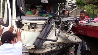 APARATOSO ACCIDENTE DE TRANSITO KM 137 SALIDA A JUIGALPA