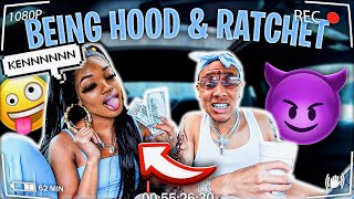 "Acting ""HOOD"" And ""RATCHET"" Together... *HILARIOUS*"