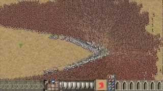 Stronghold Crusader: 1000 Knights vs 9000 Arabian Archers