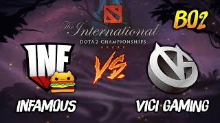 Infamous Gaming vs Vici Gaming ► The International Dota 2 2019 ( TI9 Day 2 ) 😎 | dota 2