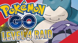 Pokemon GO - Level 4 Raid + New Gym UI!