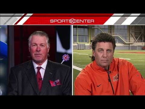 OSU Head Coach Mike Gundy Says Hair Worth 'Millions' | ESPN