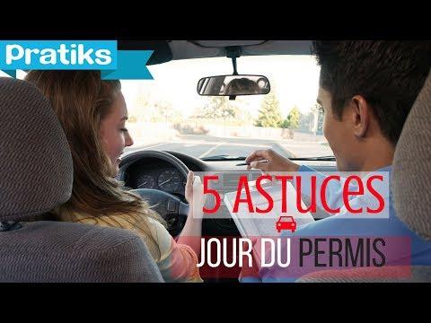 Permis de conduire - 5 Astuces pour être prêt le jour du permis