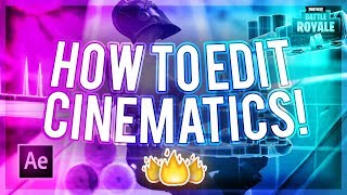 How To Edit Fortnite Cinematics! (How To Make A Montage #3)