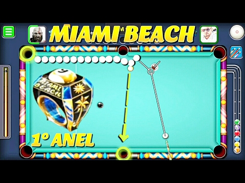 8 Ball Pool - MIAMI BEACH 9 BALL [1° ANEL]