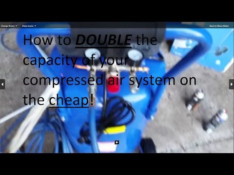 how to double the capacity of your compressed air system