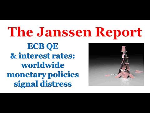 ECB QE at 60 billion a month, worldwide monetary policies signal distress
